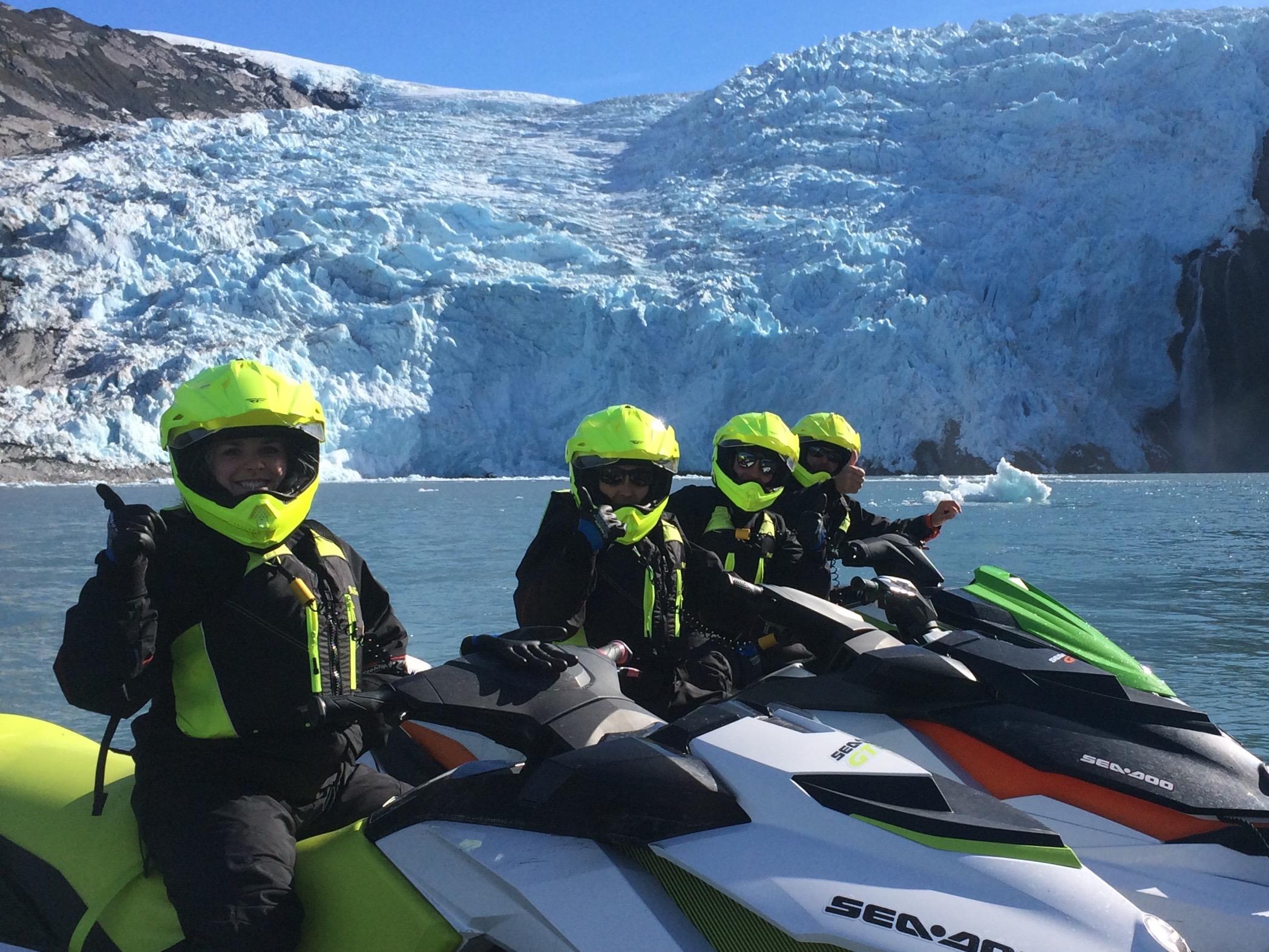 Alaska Adventure Tours like no other with Glacier Jet Ski Adventures