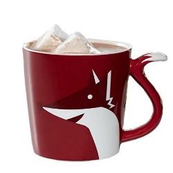Security will escort you out, fox mug.