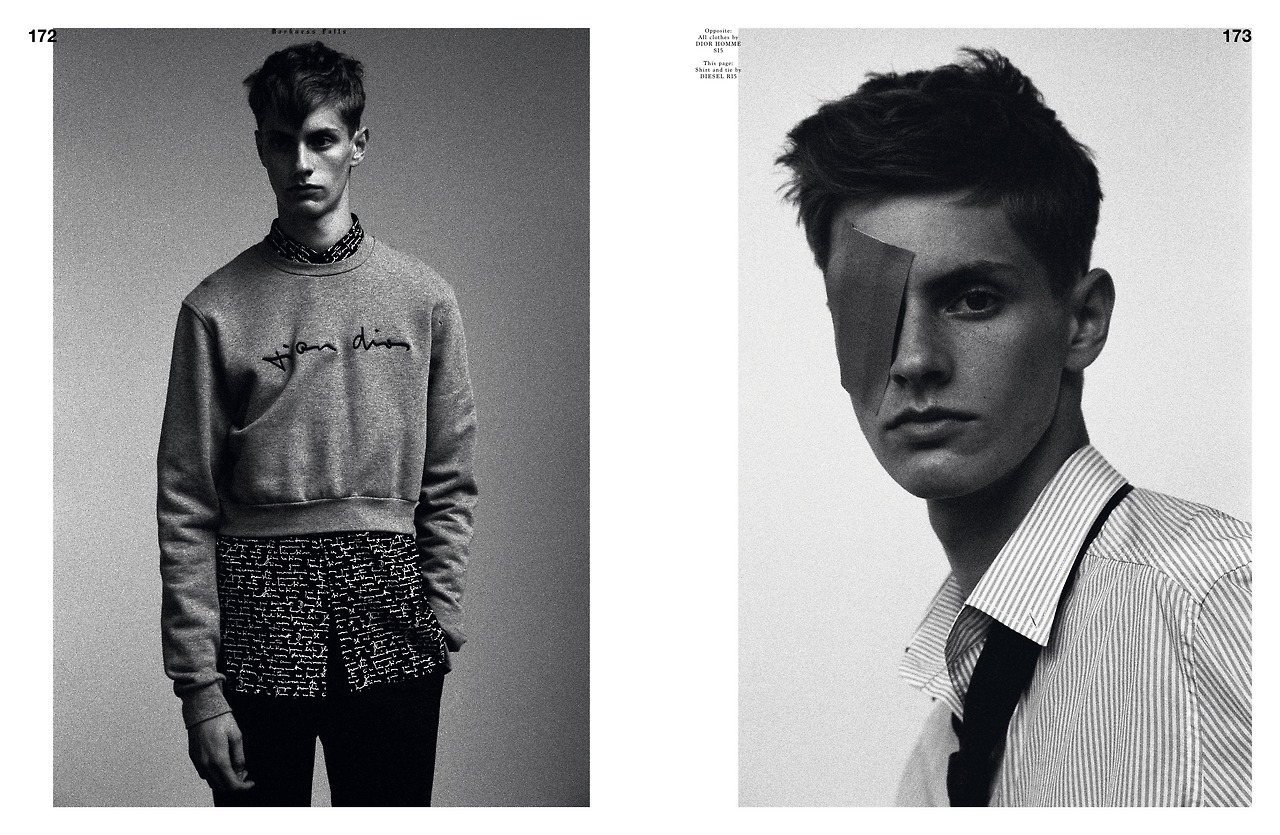 Sam Rosewell  by  Fabien Kruszelnicki  for  HERO  Magazine, FW14