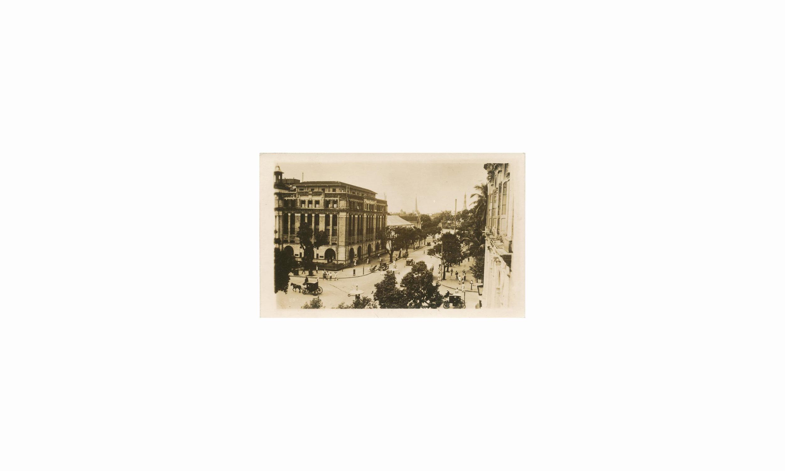 Mahabandoola Road  1940s.jpg