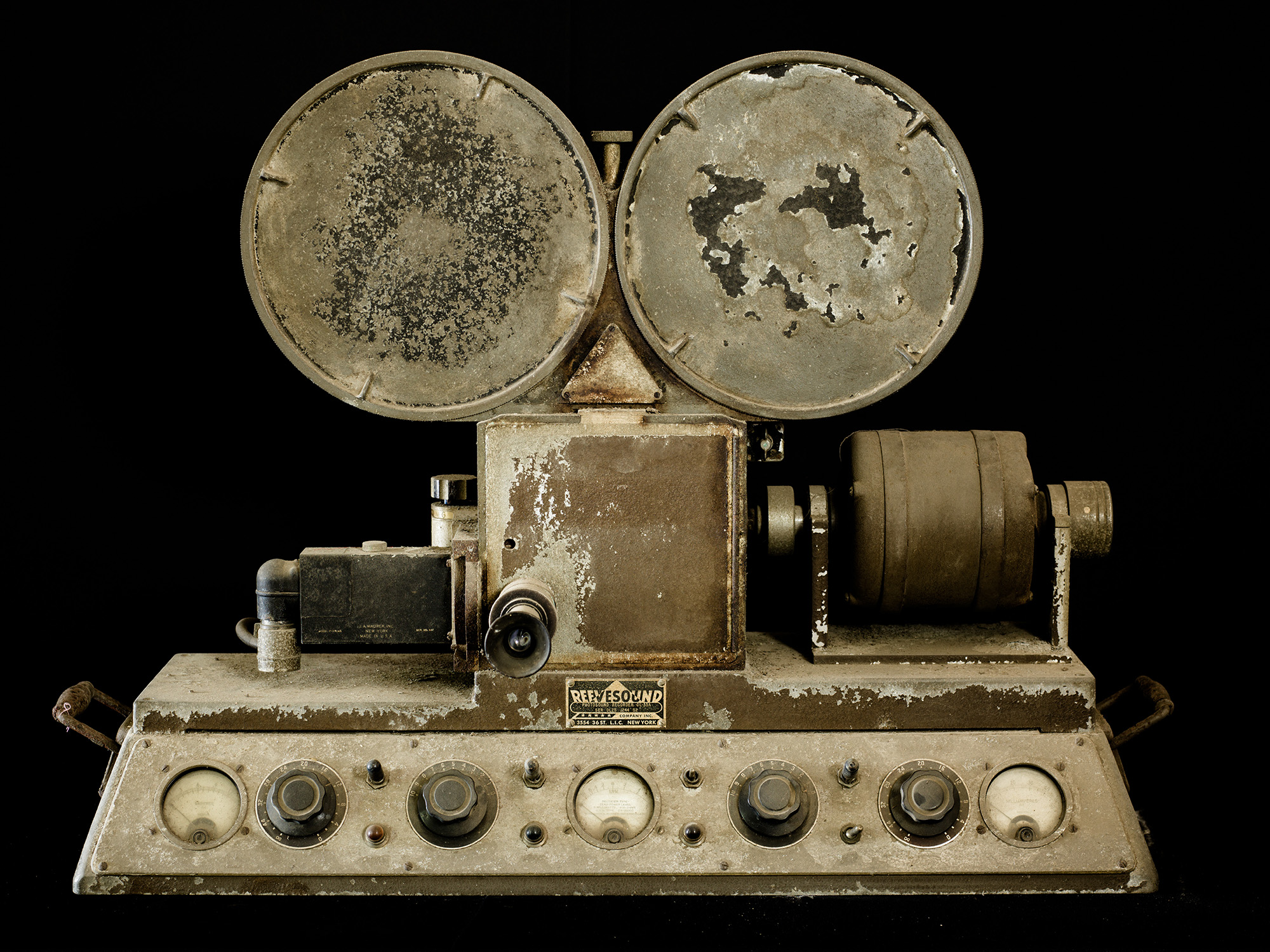 An American Reevesound photo sound recorder.
