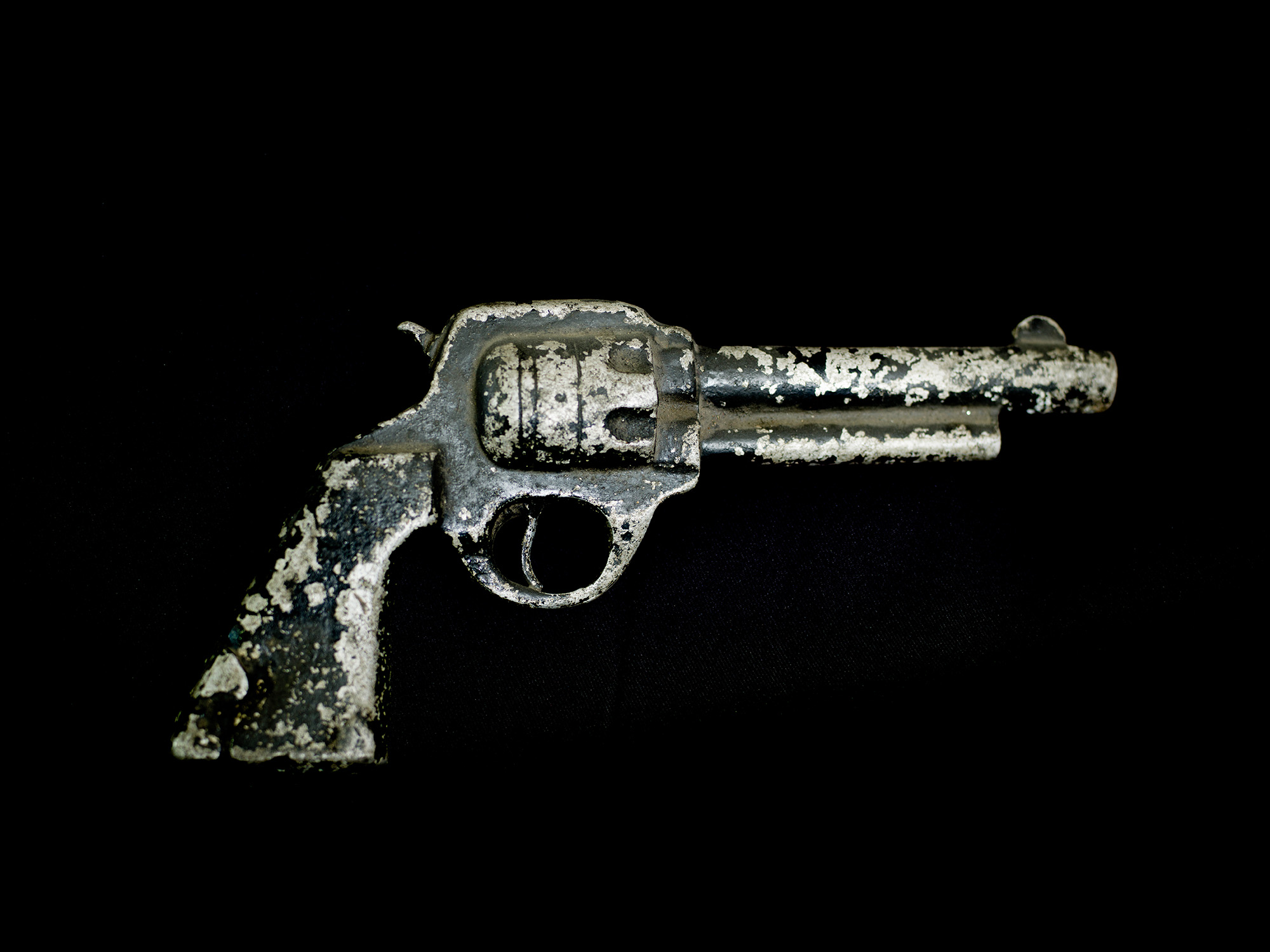 A pistol that was used in the 1974 film  Naw Kuu Ma . The film tells the story of a Karen nurse called Naw Kuu Ma, who ventures into the jungle with a Karen National Liberation Army Solider to fight the Burmese Army.