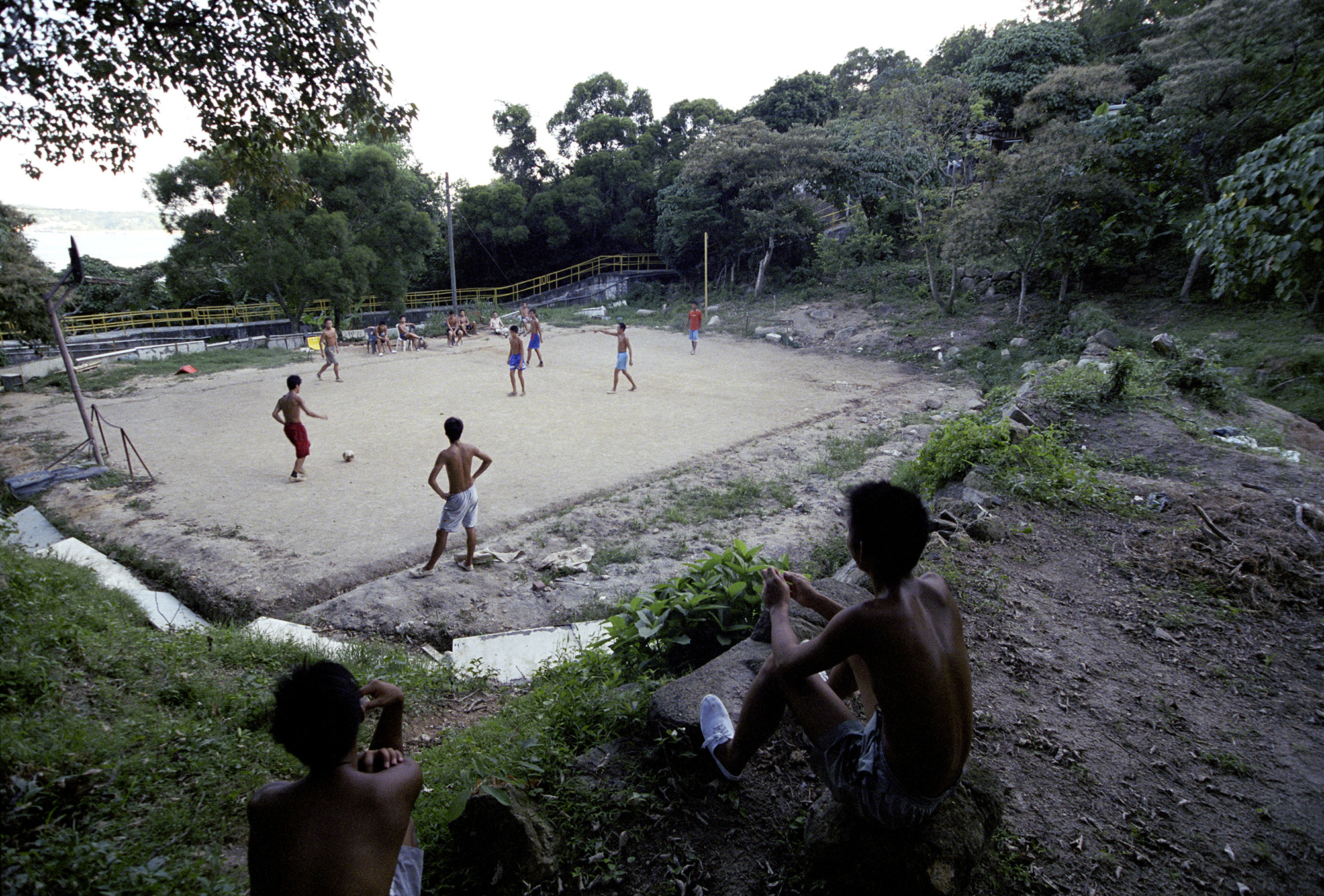 An afternoon game.