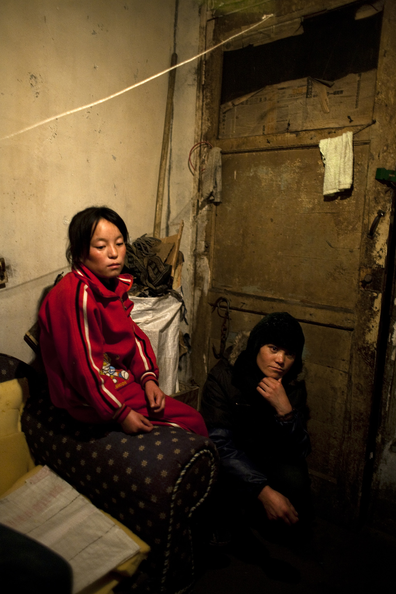 Ma Chun Mei and her mother Zhang Sa Li.