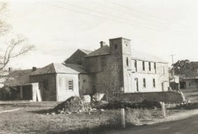 Hahndorf Academy July 1967 during restoration.