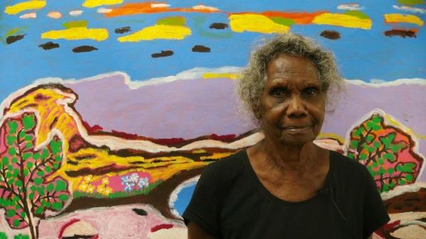 Janet Koongotema  Painted Stories  2018 (Photo: LA)