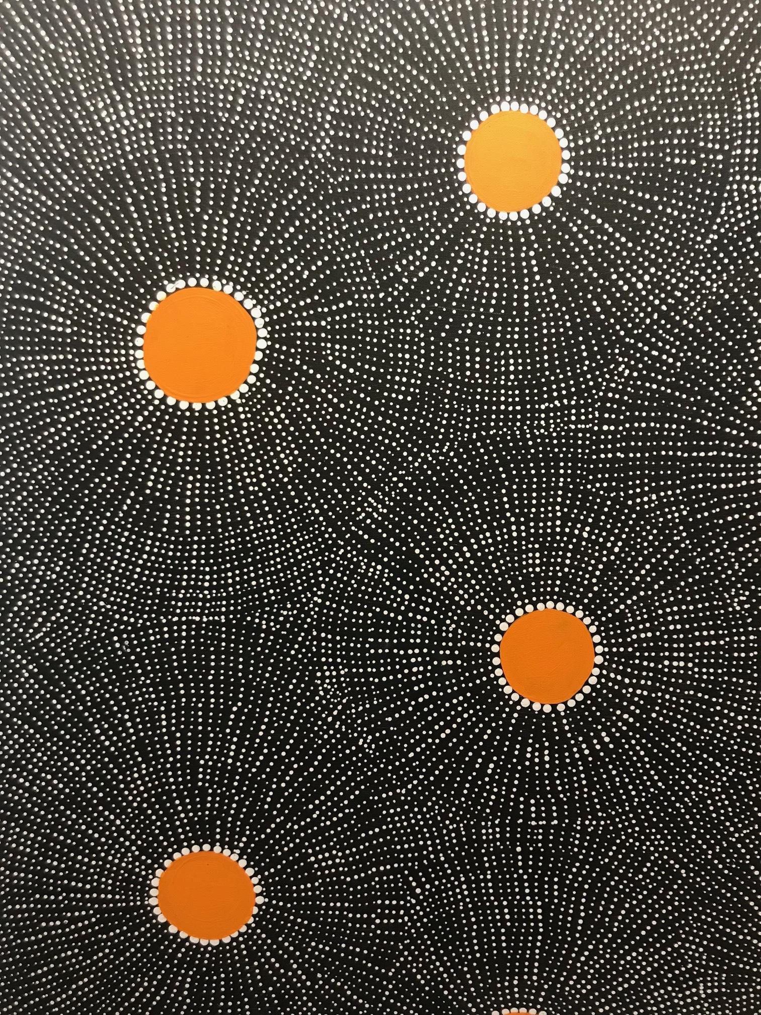 Marshall Jangala Robertson,   Watiya-warnu  Seed Dreaming
