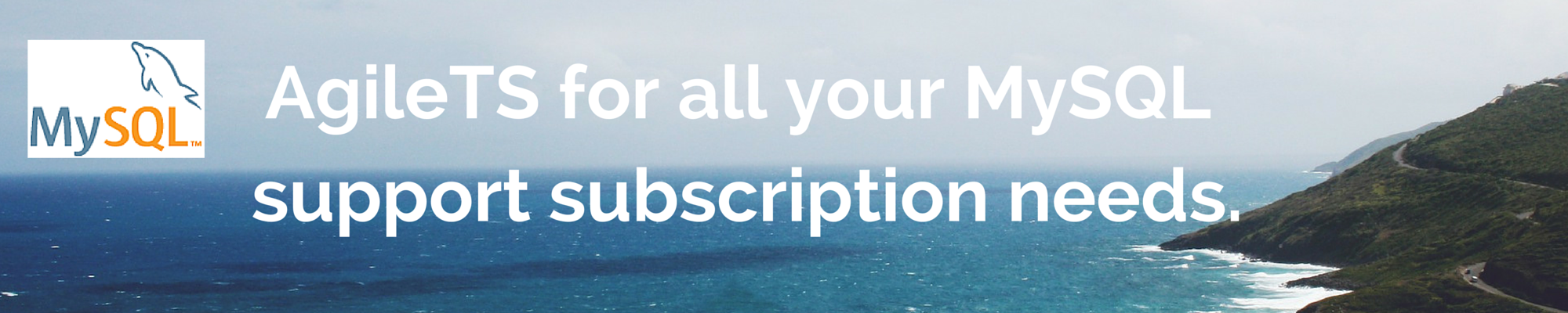 AgileTS for all your MySQL support subscription needs
