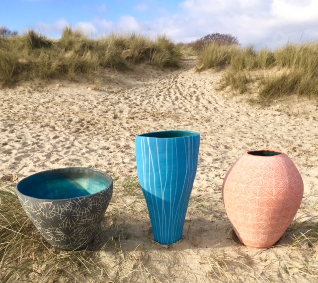 Three pots on the beach jan2018.jpg