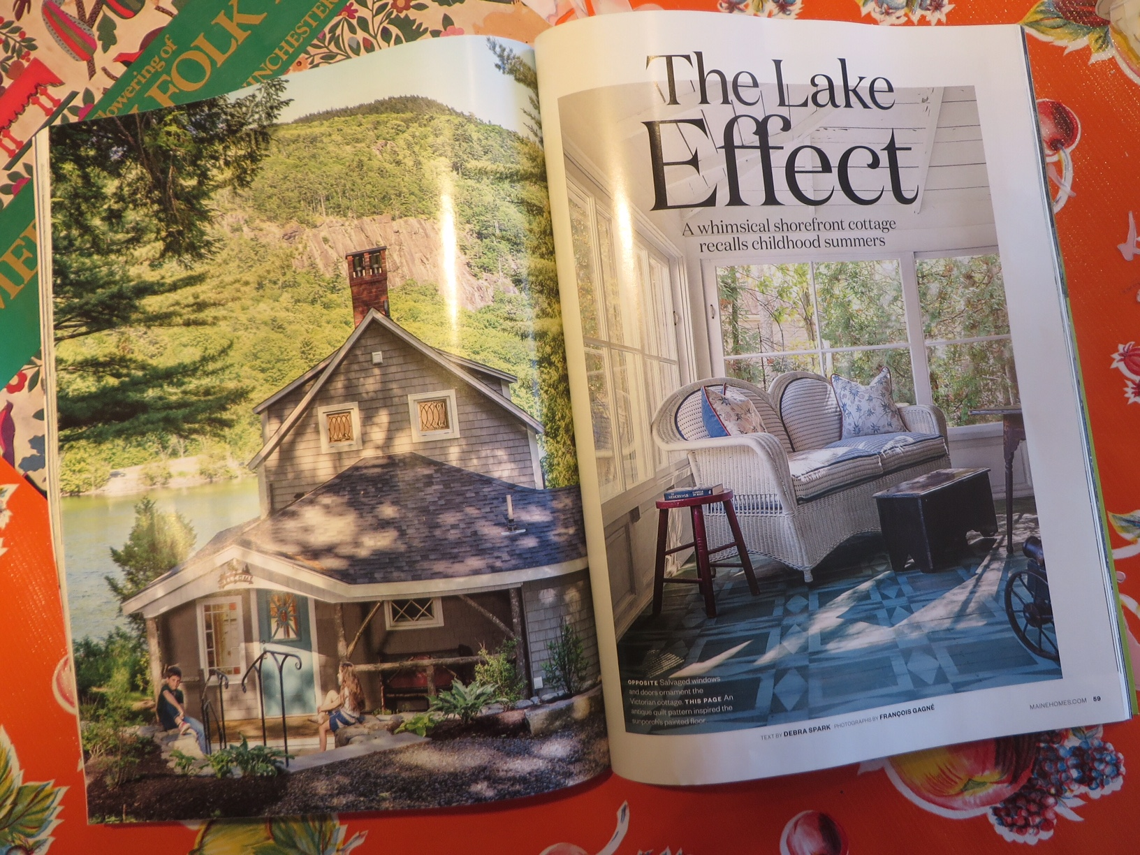 DownEast Magazine - MAINEHOMES  •  A great artcile about last years key project here in Mid Coast Maine!