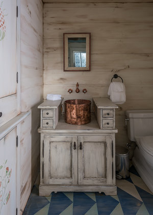 Cabin Powder Room