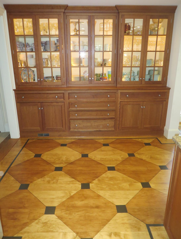Updated Checkerboard Floor