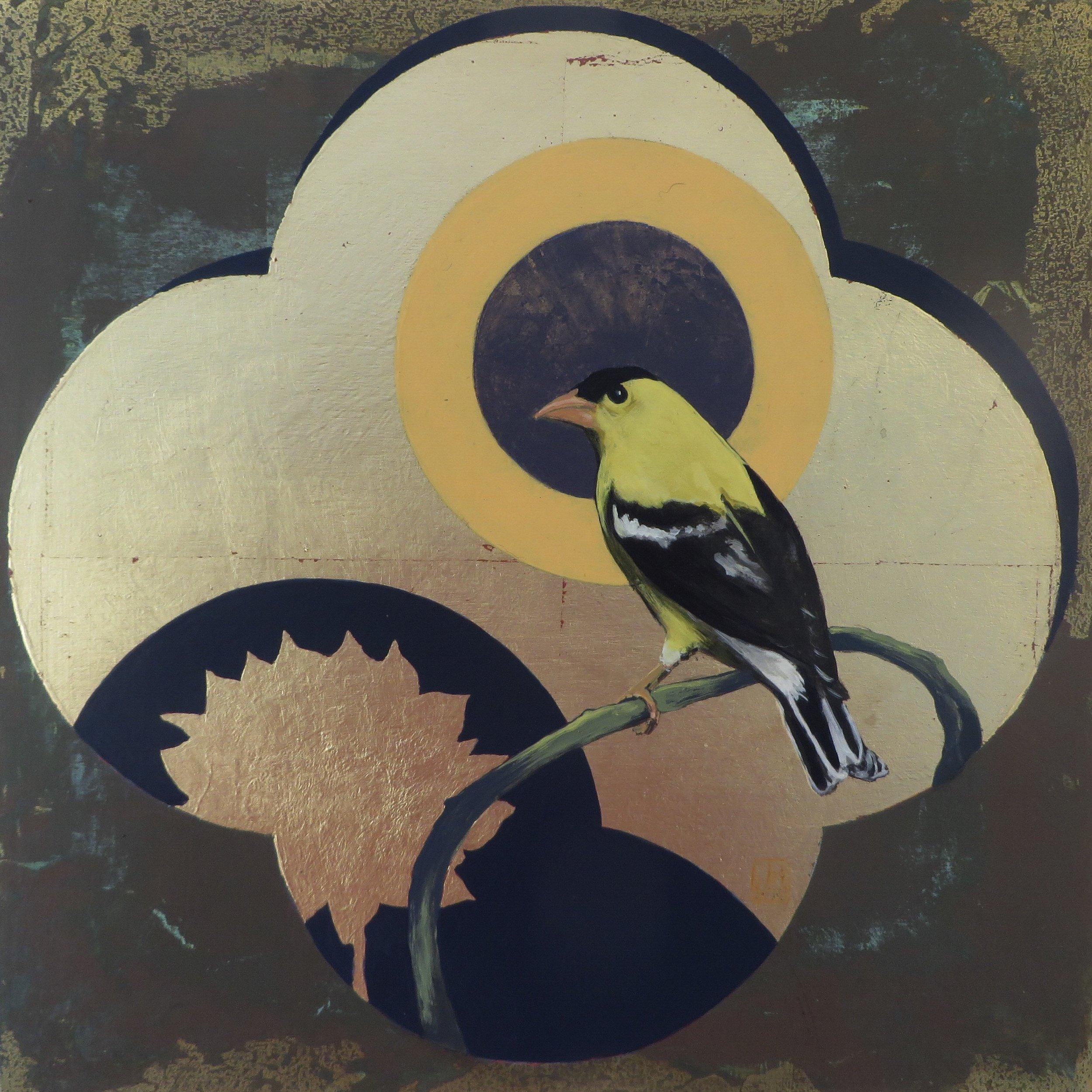 Window I - Yellow Finch
