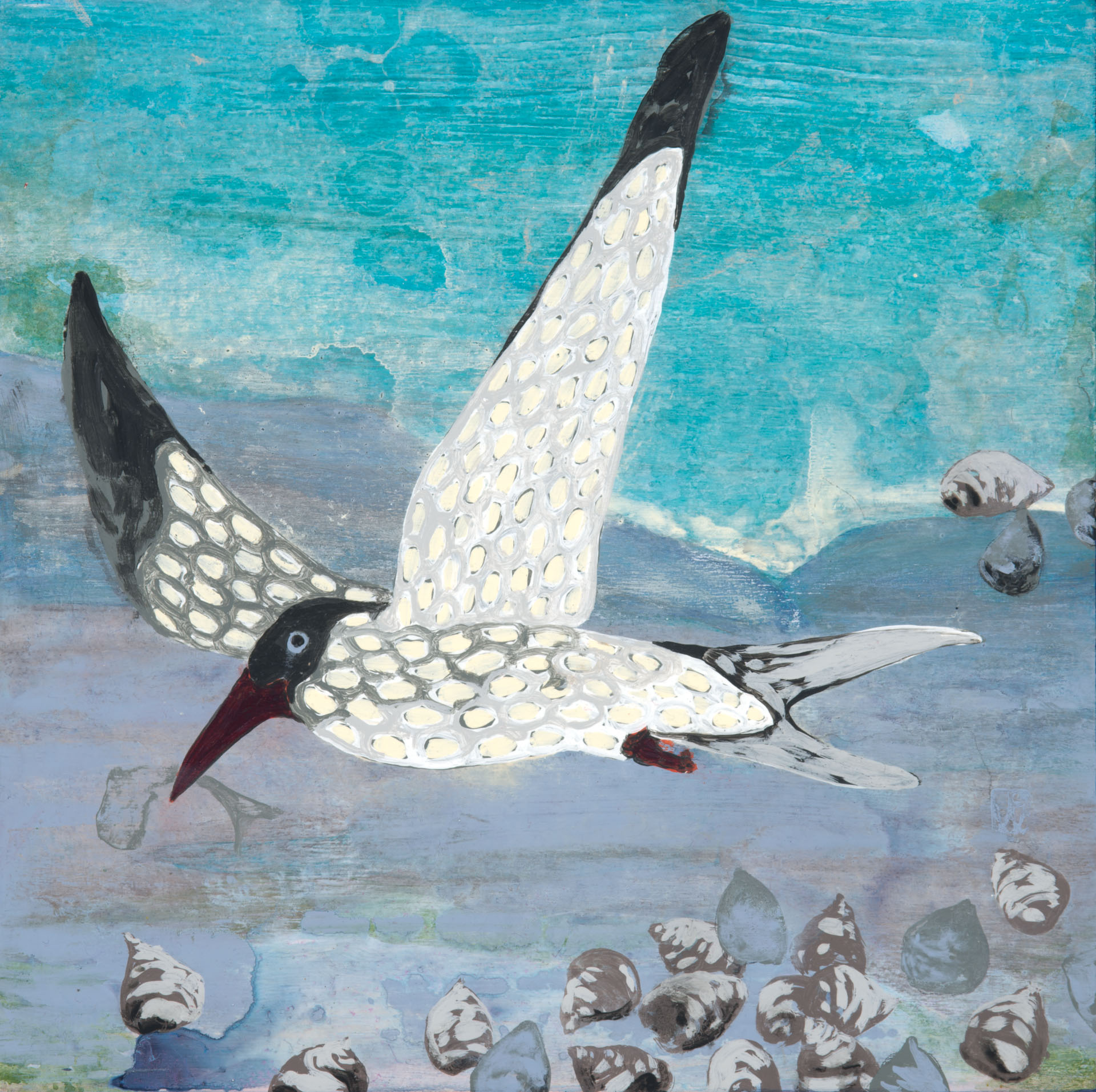 Gone Fishing (Gull with Periwinkles)
