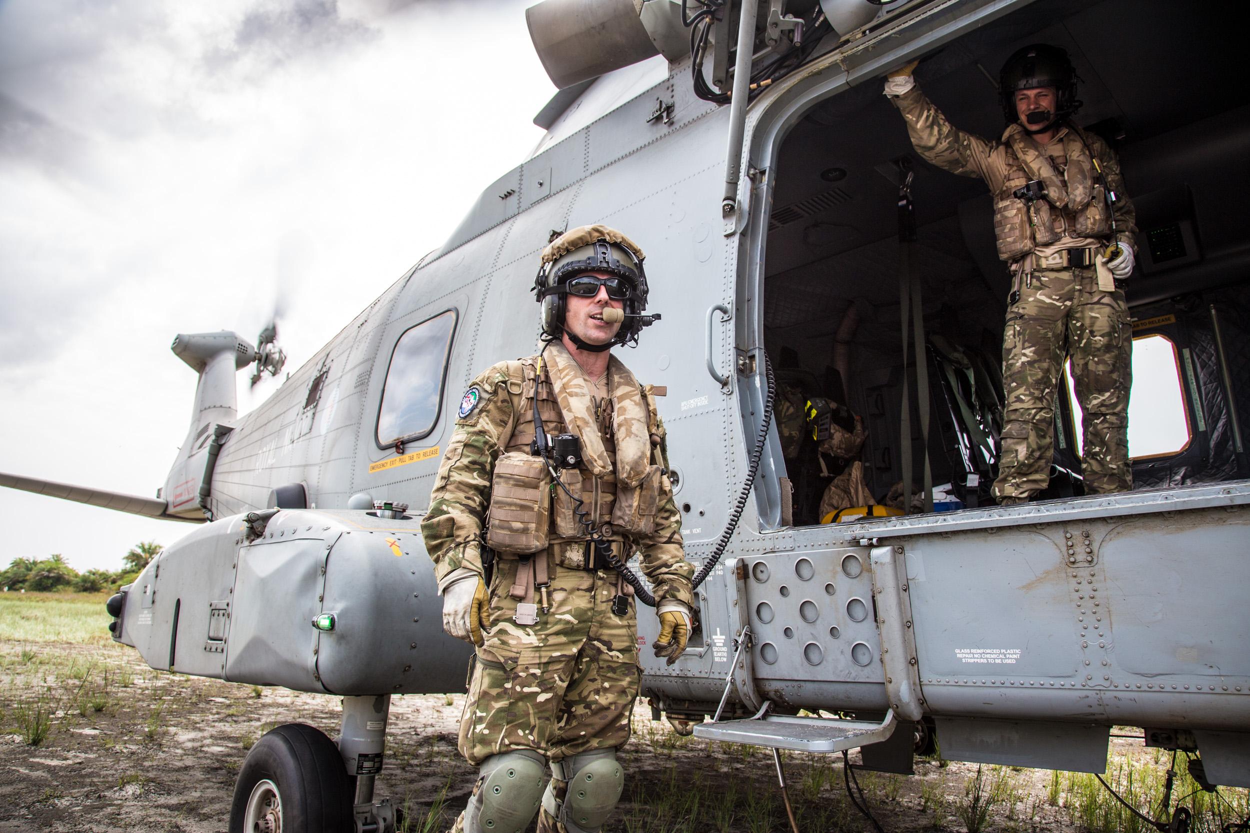 British military in Sierra Leone