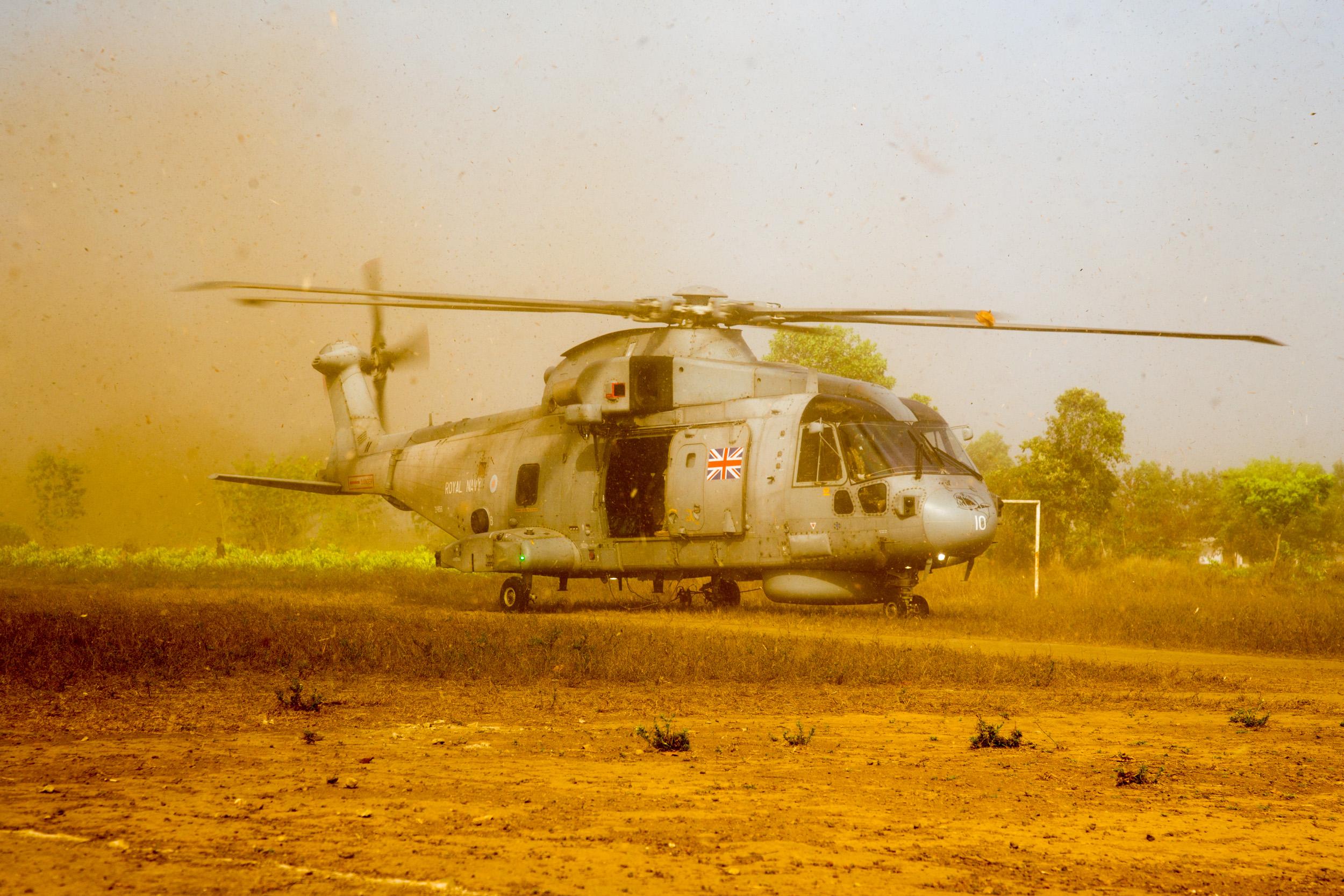 British Navy in Sierra Leone