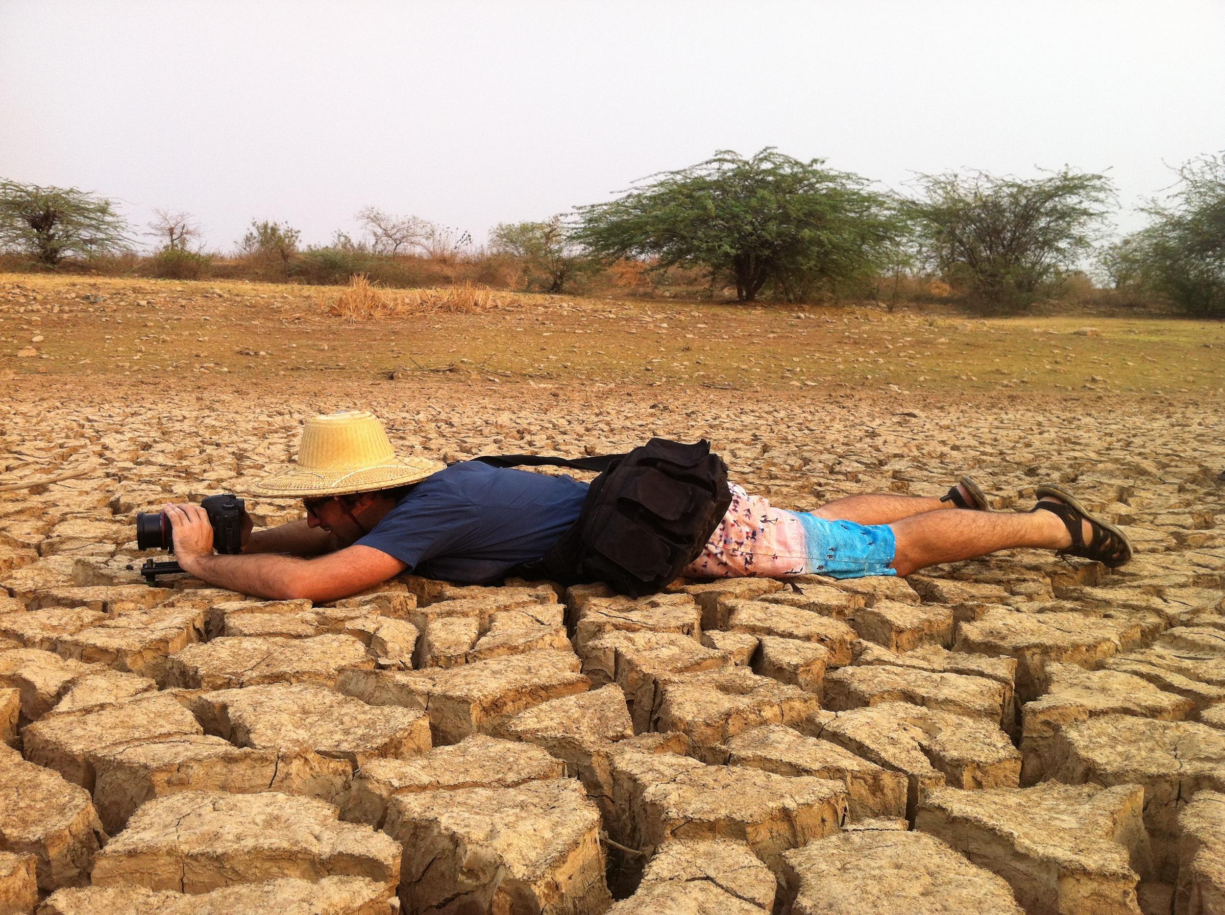 Michael Duff working in Burma