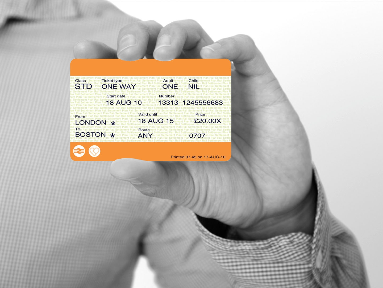 3. Present the ticket