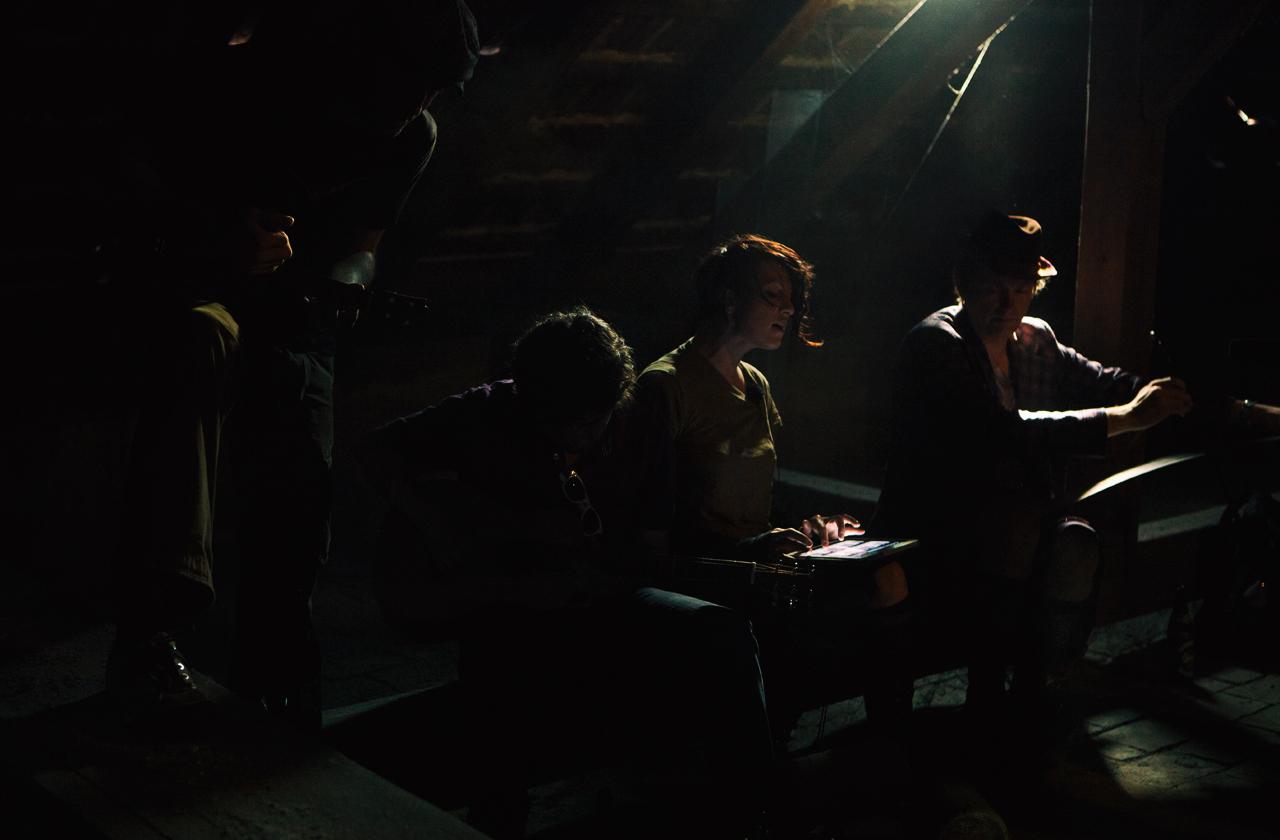 AMANDA PALMER  2011 in an attic at Arena Vienna