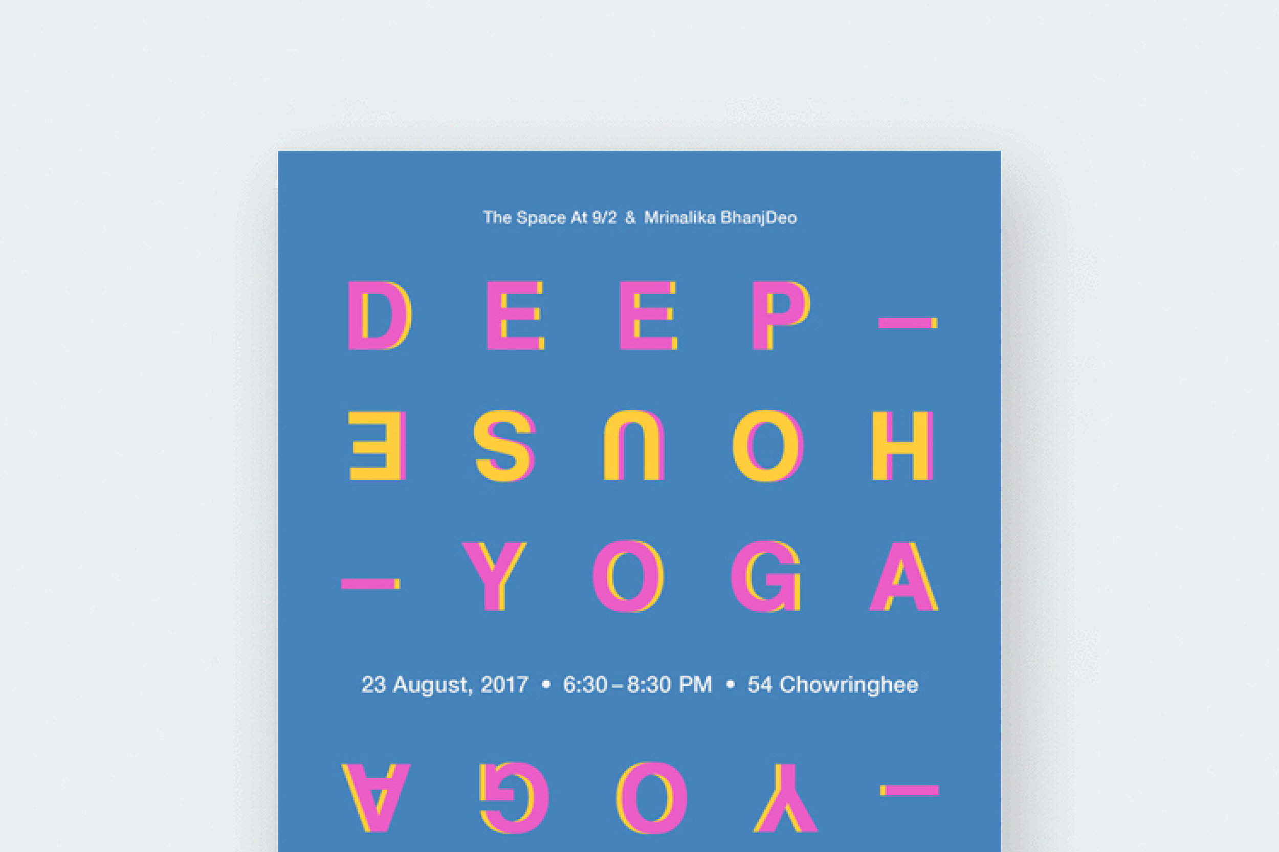 Deep House Yoga  Combining music & yoga to allow you to flow through different asanas.