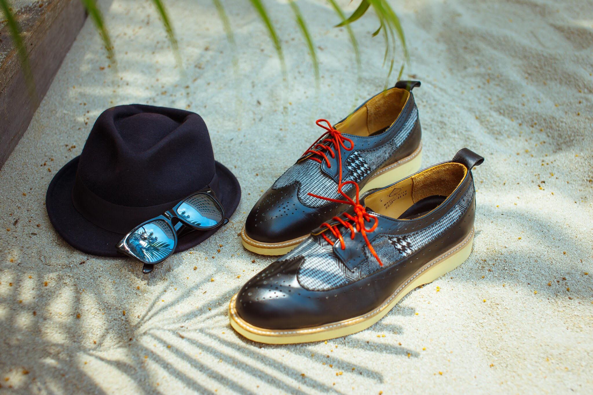 Wingtip Brogues雕花鞋 -