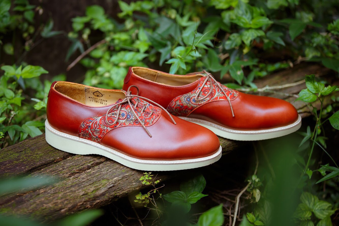 Plain Toe Saddle Shoes馬鞍鞋 -