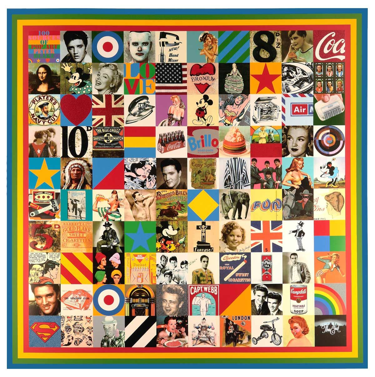 100 Sources of Pop Art