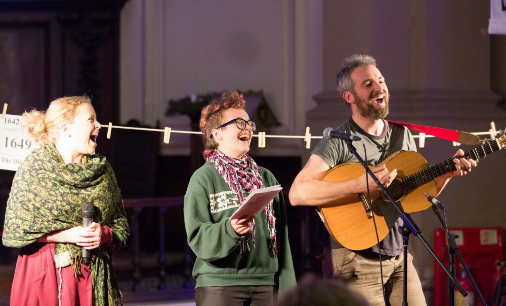 Three Acres and A Cow, British School Hall, Sun 27th