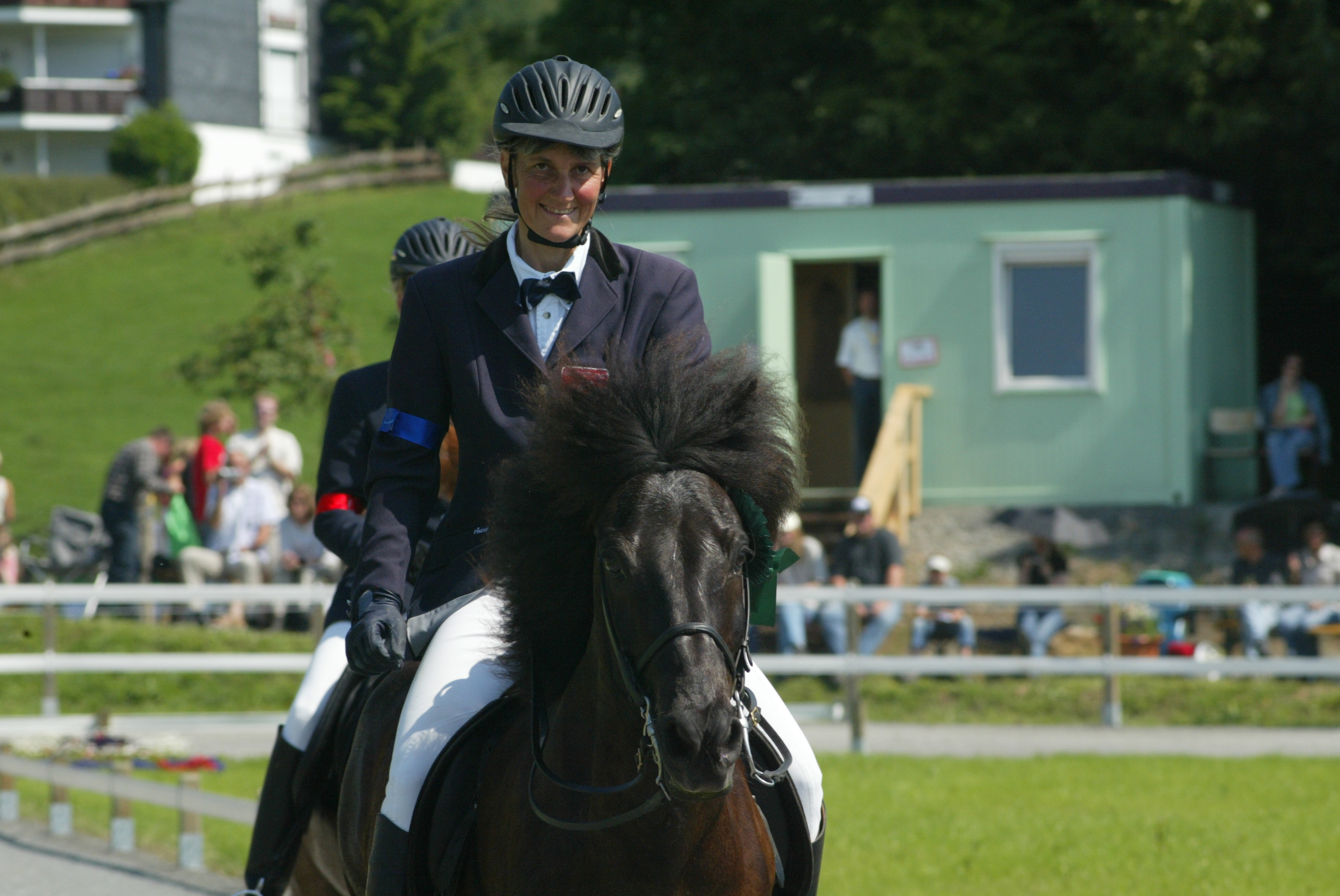 Brigitte mit Kjarkur auf der DIM 2005