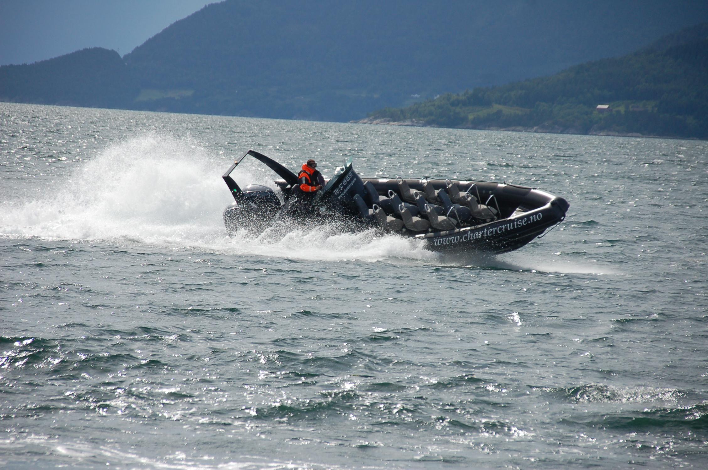 """Fjord ONE"" RIB boat"