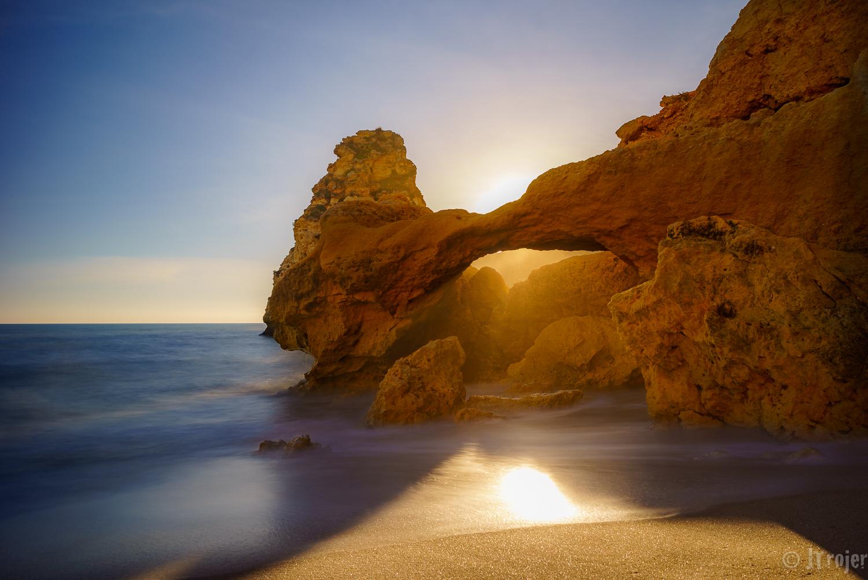 Beach near Benagil/Lagoa Algarve.