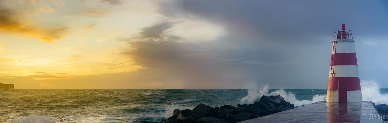Sunrise at Portimao Algarve.