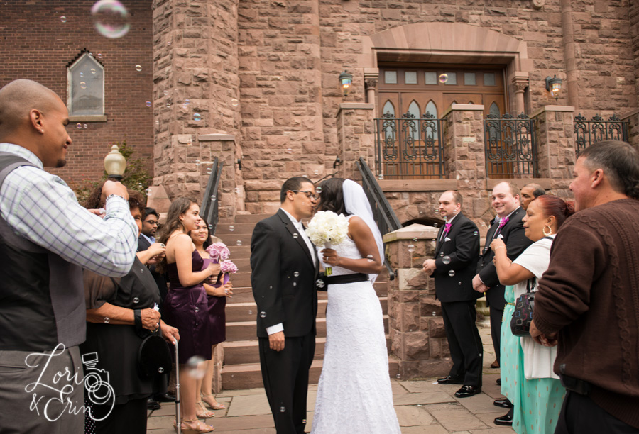 Chapel Hill Rochester NY Wedding, Bride and Groom