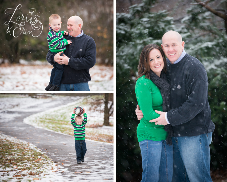 Winter portrait session, family session rochester ny, highland park conservatory
