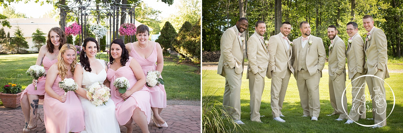 Groomsmen and Bridesmaids, La Galleria Wedding Photography