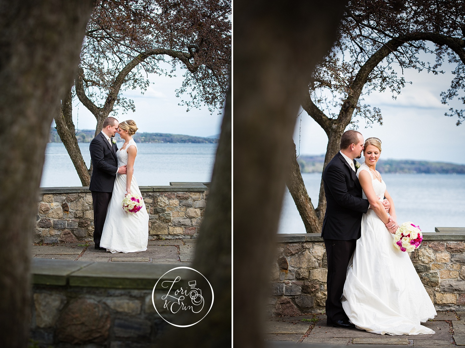 "Left: We LOVE this picture. The angle/place in which the picture was taken shows yet again, the level of creativity Lori and Erin have in capturing such special occasions and moments! This picture we used as our ""Thank You"" card photo and it received A LOT of compliments!"