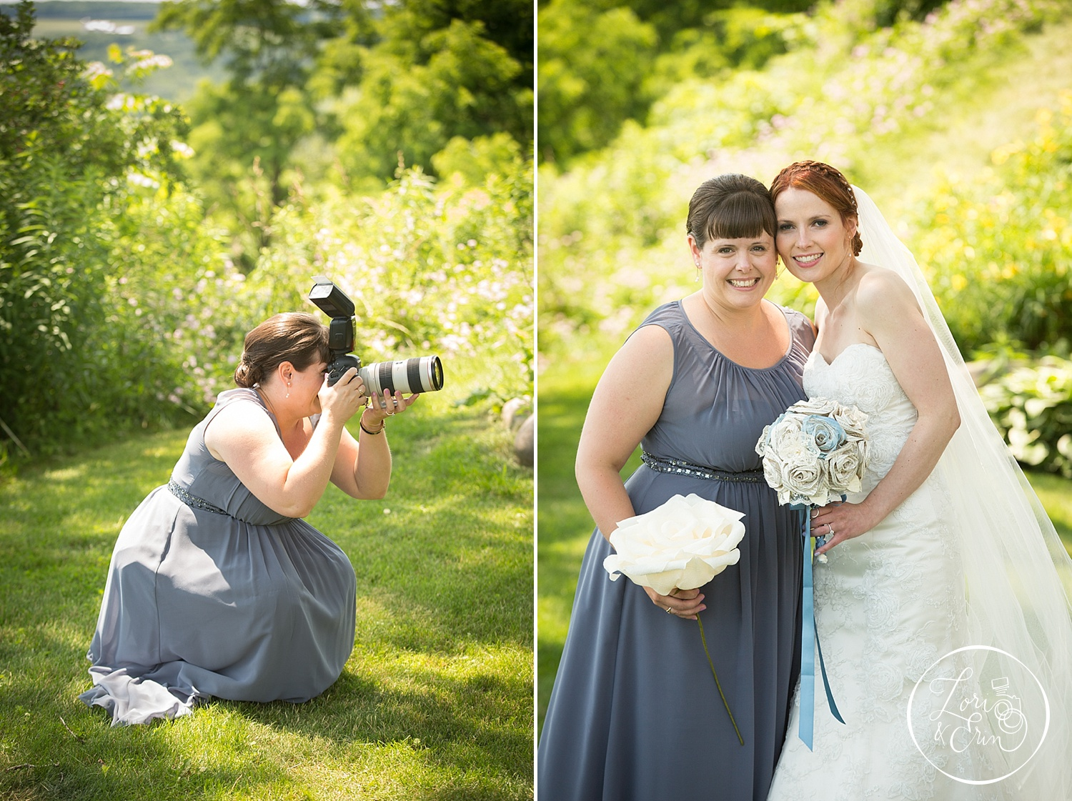 Photographer by day, Bridesmaid by... day? :)