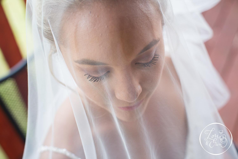 beautiful bridal veil at Ventosa Vineyards in Geneva, NY