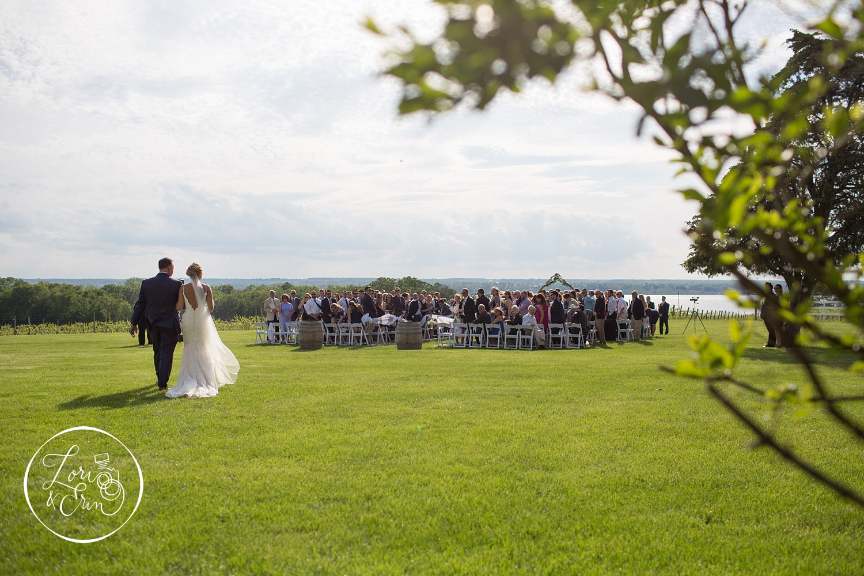 rustic wedding at Ventosa Vineyards in Geneva, NY