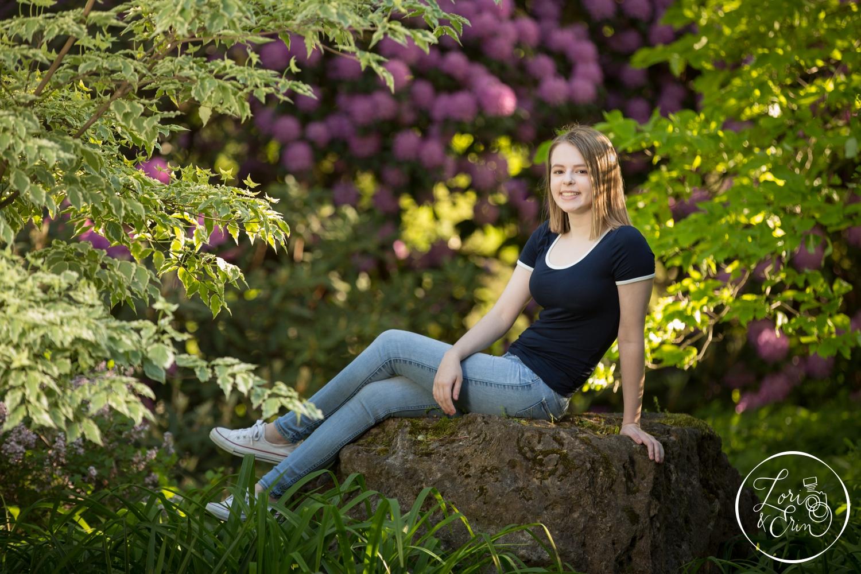 Fairport Senior Portraits, Class of 2018, photos taken at Highland Park