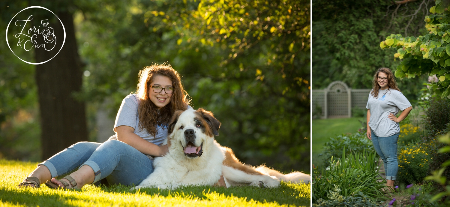 Rush Henrietta Senior Portraits in Highland Park, Rochester, NY