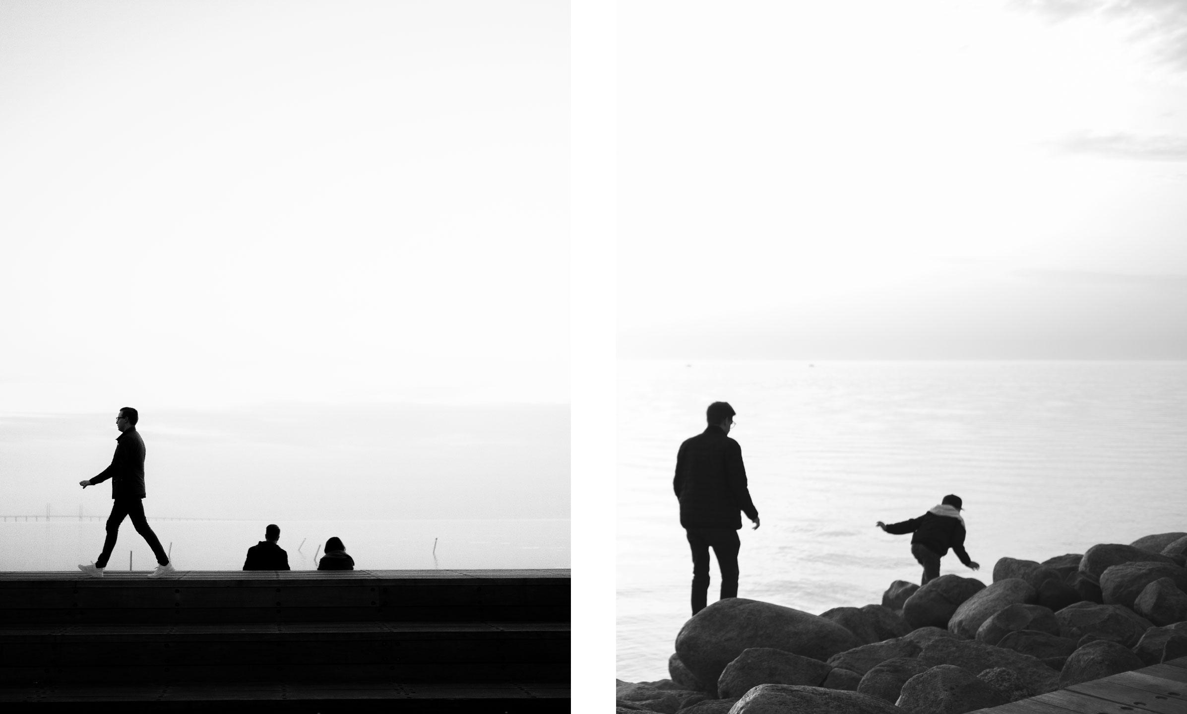 När du redigerar   : Lek med färger och testa ett svart/vitt tema för en mer solid look. Det skapar en lika härlig känsla av vår som färg, bara på ett annat sätt. Om du fotograferar med horisont - se till att räta upp den i ditt redigeringsverktyg.