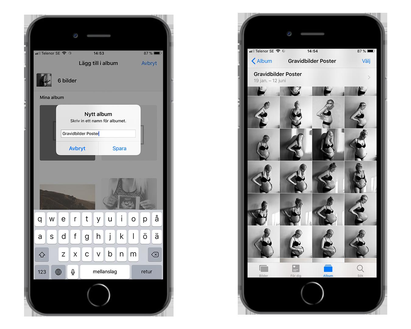 framkalla-bilder-gravid-iphone-android