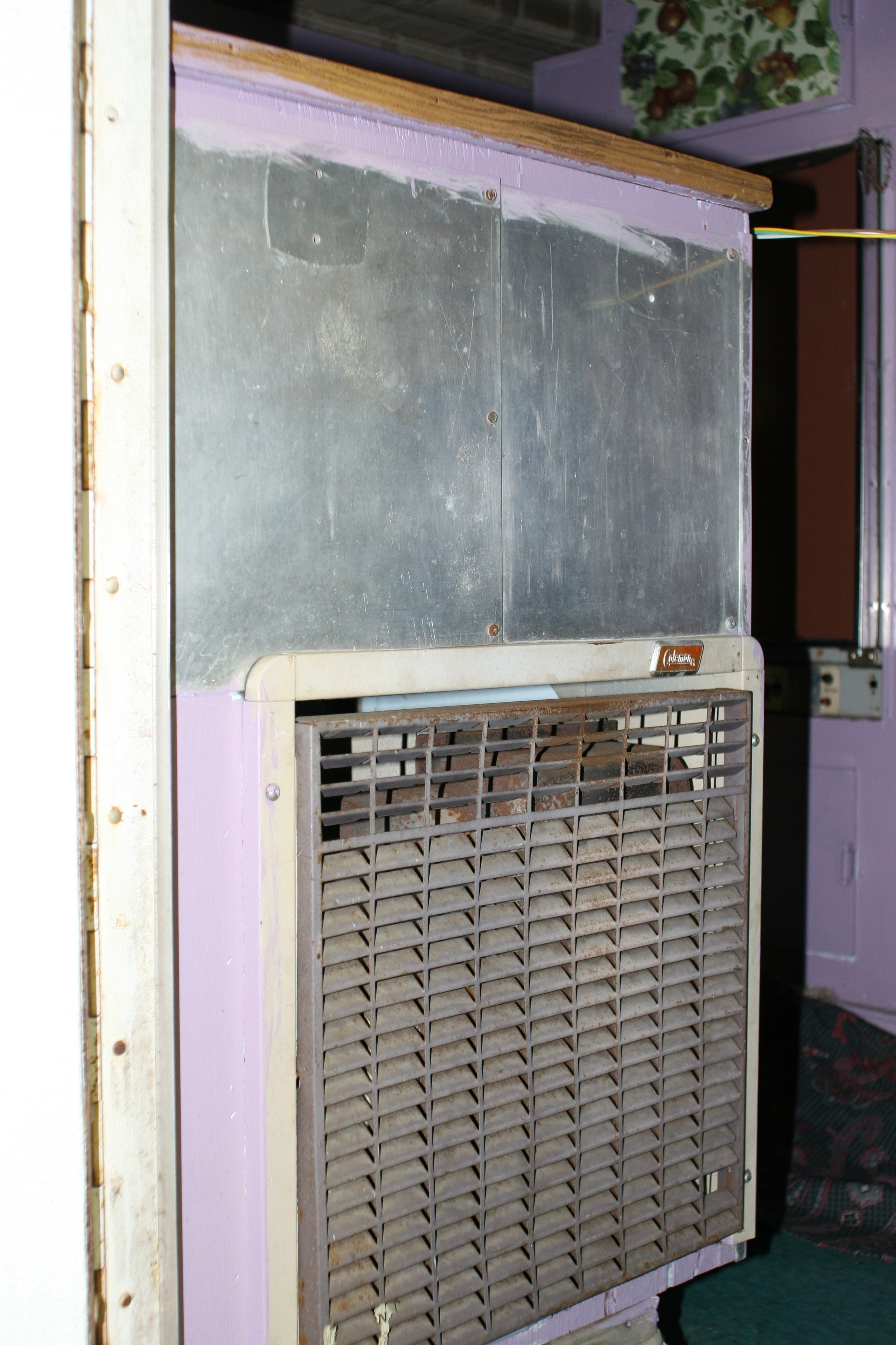 Propane furnace.