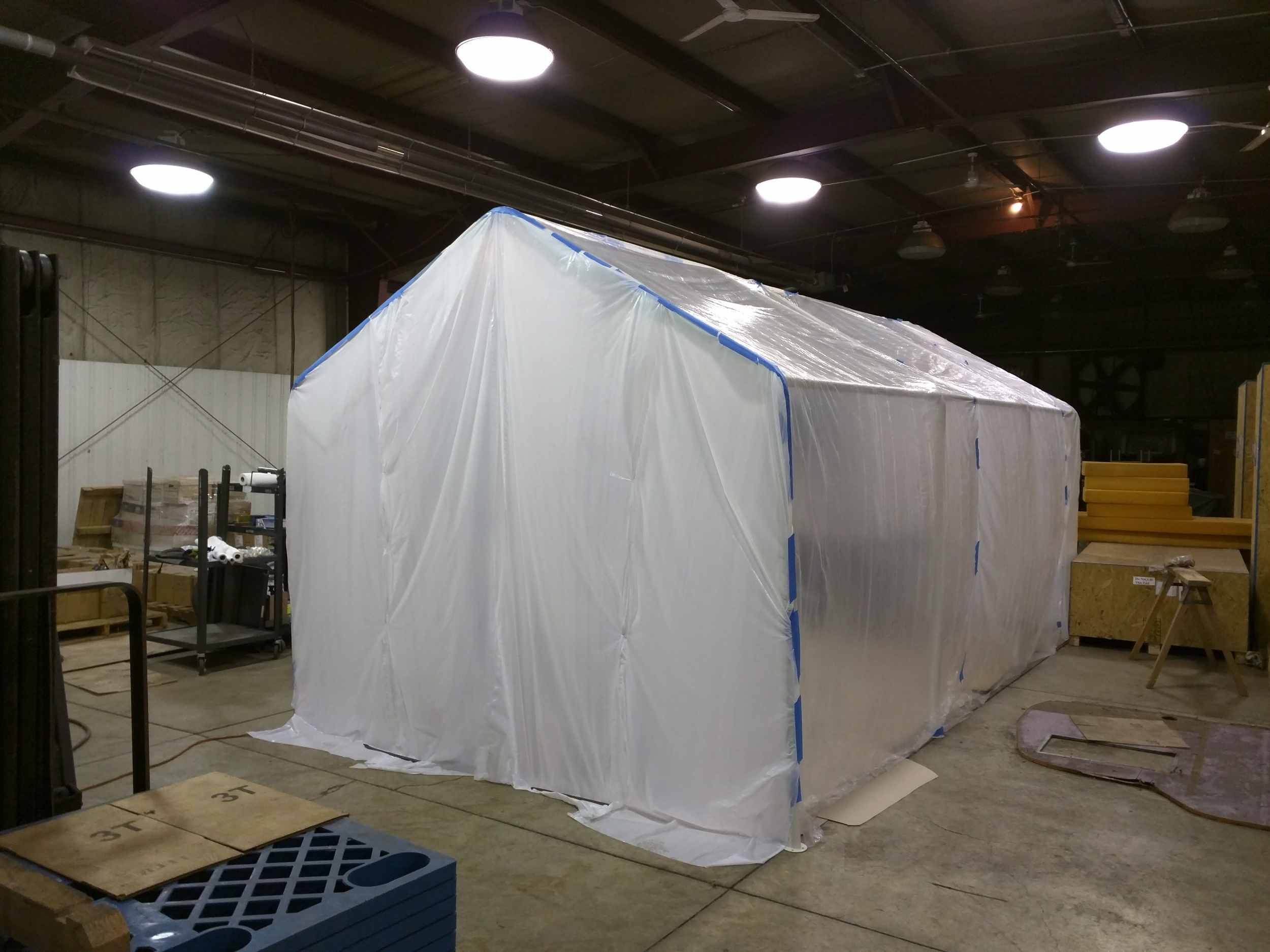 """Paint Booth"""
