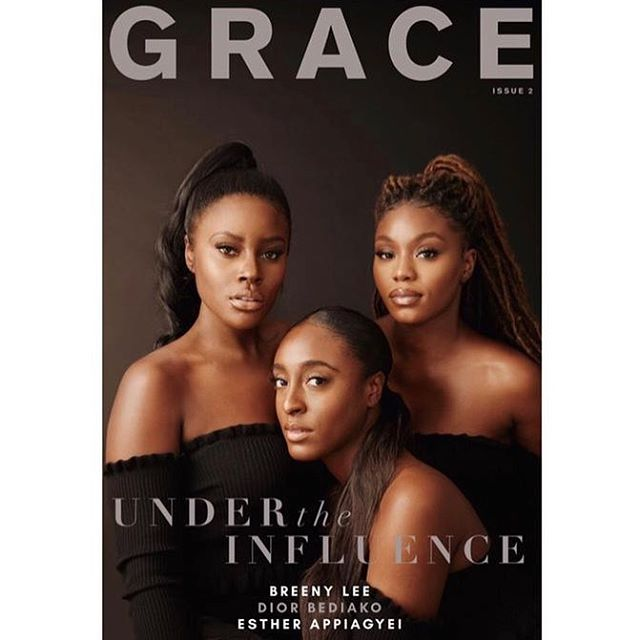 Sooooo in between doing the millennial most for the last 3 months tiring myself right out I still managed to jump on @gracemagonline with the editor boss-lady @beingdara to launch Issue 2 of GRACE MAGAZINE🙌🏾 Now here comes my speech: Shout out first and foremost to Jesus Christ because this issue was not without its er issues! Secondly, s/o to Dara for carrying the GRACE vision and bringing me in. Next s/o to the cover stars @breenylee @diorrichnconnected @thequeenhadassah. S/o to allllll the contributors. And s/o to my sister Marian who has nothing to do with the issue but it's her birthday today so you deserve a shout.  Now please kindly go have a read of it because me I worked o and my eyes dey tire for it (so please let not my bags be in vain.) Happy International Women's month too!  COVER CREDITS Photographer: @robertbinda MUA: @ebonygoldmakeup Hair Stylist: @iam_missbee Stylists: @annesfashionflair and me BTS videographer: @shotbydayo #shotonPixel3  p.s also s/o to the 3 beautiful ladies (you know who you are!) who were initially shot for the cover but because of errors on our part and availability, we had to re-shoot.
