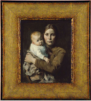 Melchers Mother And Child Fine Art Card Or Framed Miniature Collotype Prints
