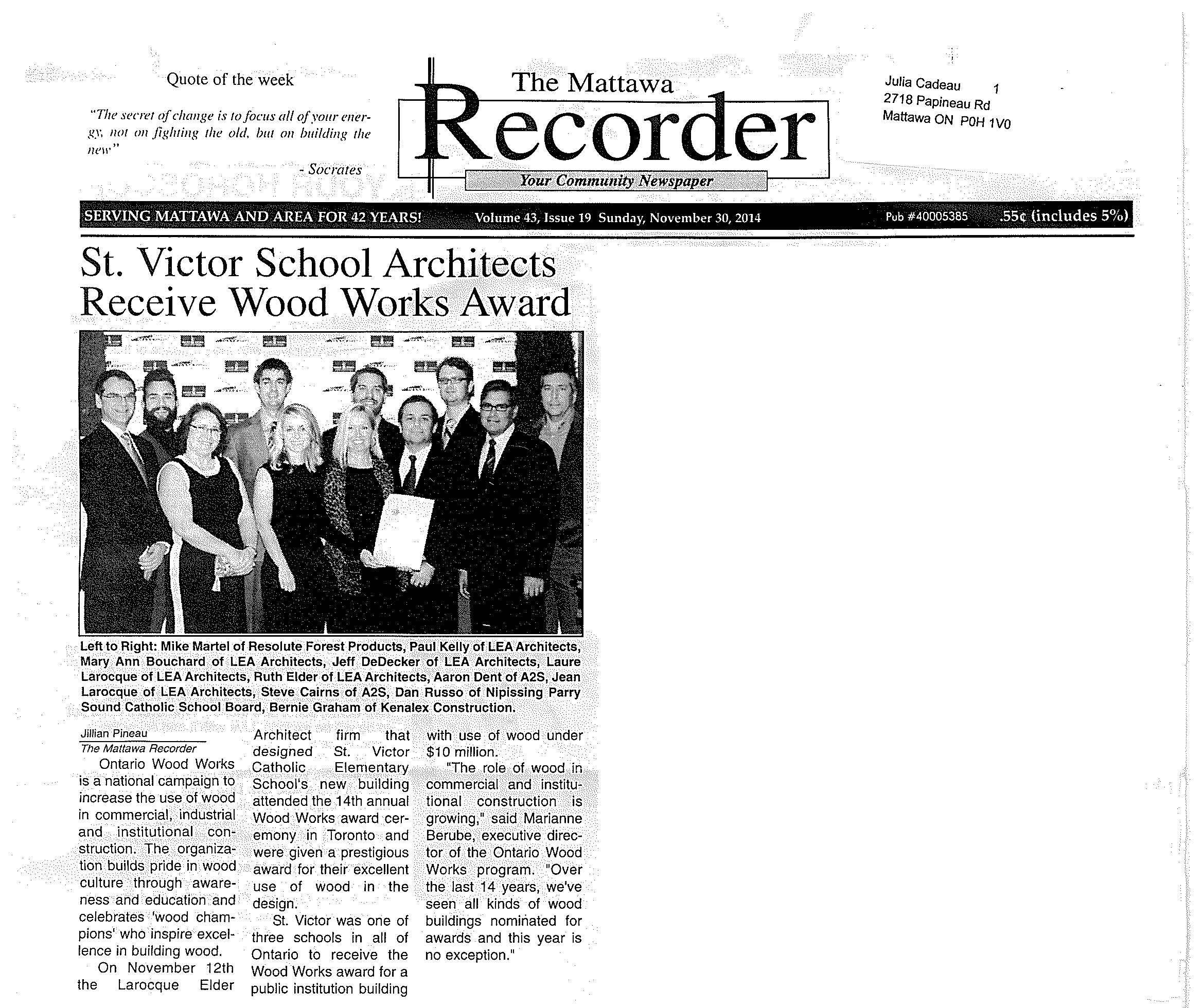 The Mattawa Recorder St. Victor.jpg
