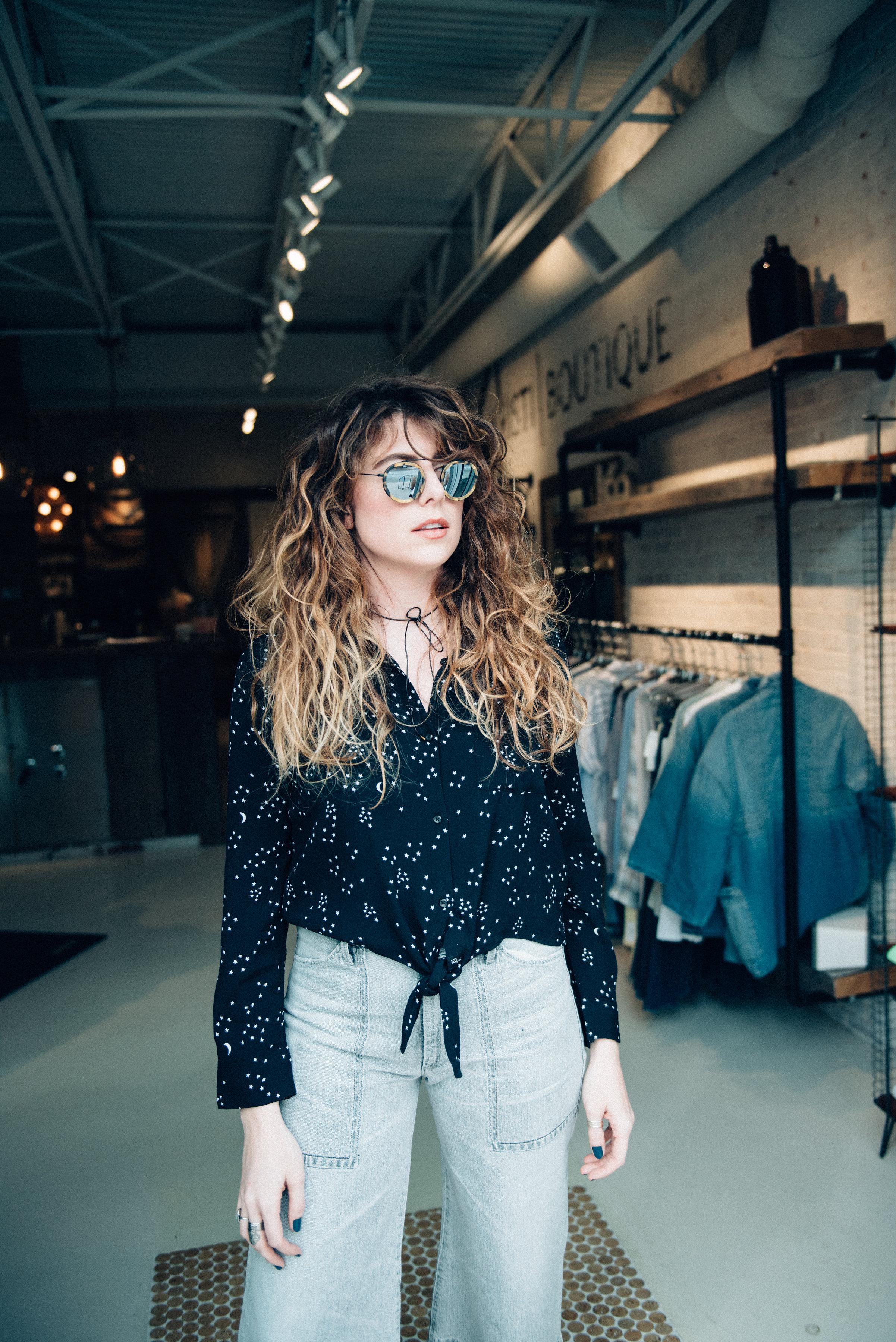Wavy Alabaster x Kristi Boutique