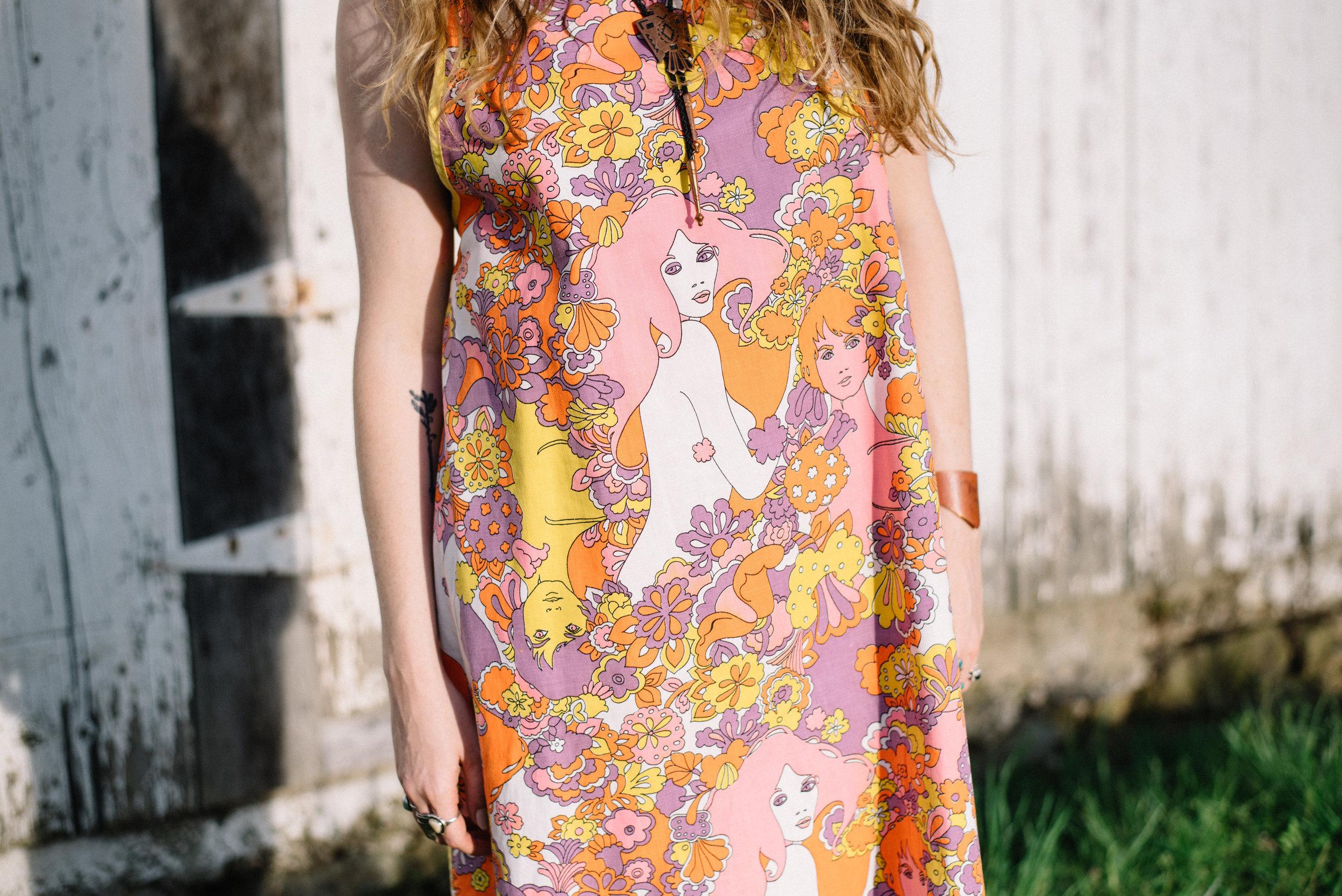Jessa Gibboney of Wavy Alabaster Slow Fashion Summer with CollAction